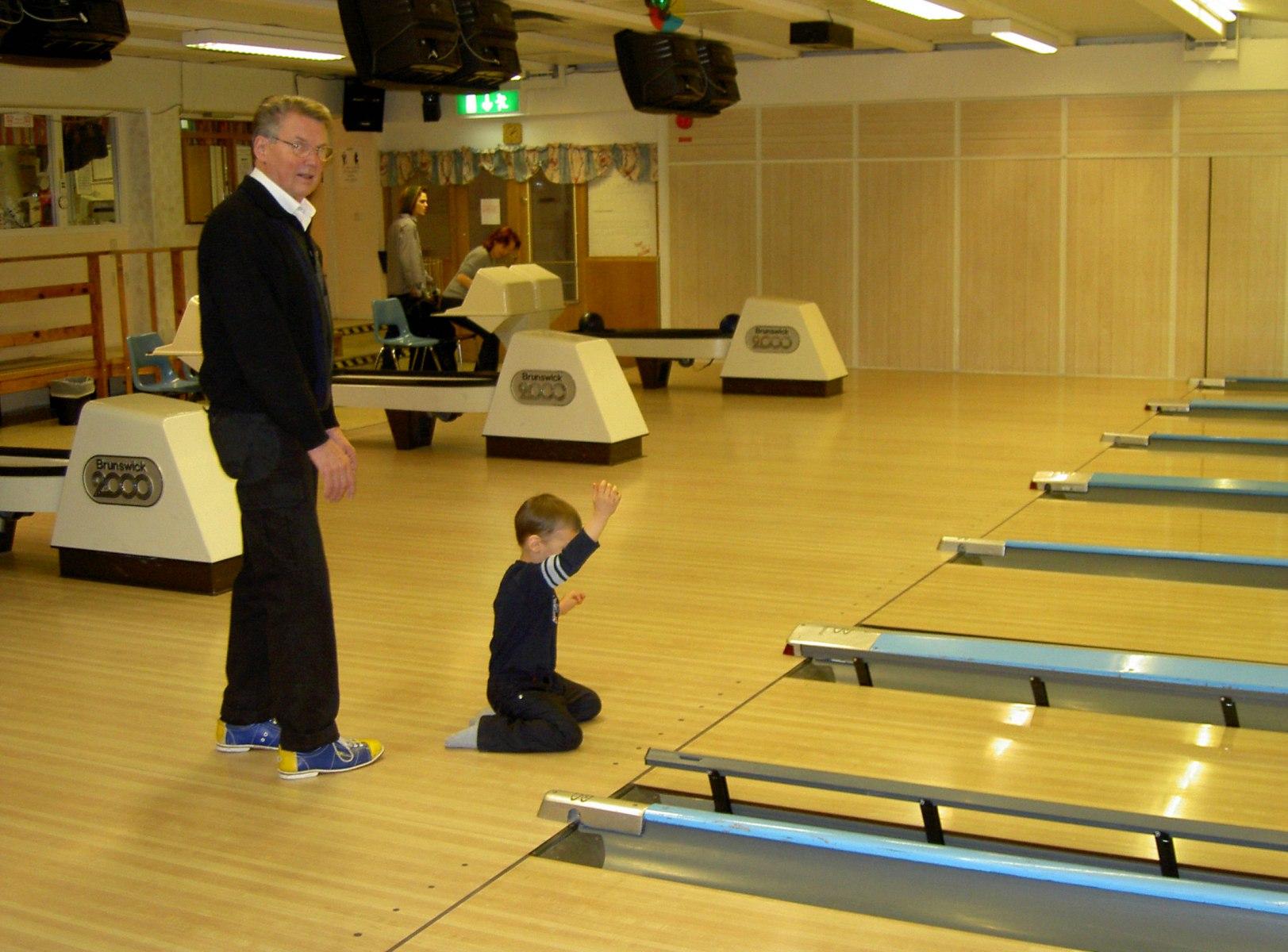 Bowling-med-morfar